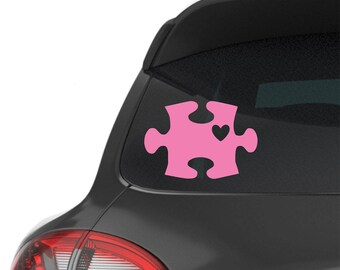 Autism Awareness Decal | Puzzle Piece Vinyl Decal | Car | Yeti Cup Decal | Laptop | Sticker | Ipad tablet Gift  - By JG Squared Creations