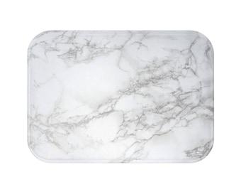 Marble Bath Mat | Marble Bathroom Mat | Marble Shower Mat | Marble Bath Rug | Marble Bathroom Décor | Marble Bath Décor | Marble Bathroom