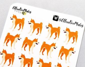 Shiba Inu/Akita Dog Decorative Stickers
