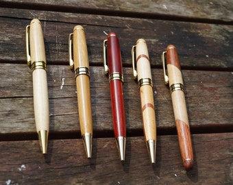 Personalised Wooden pen, wooden pen, personalised pen, engraved pen, wood pen, ball point pen,