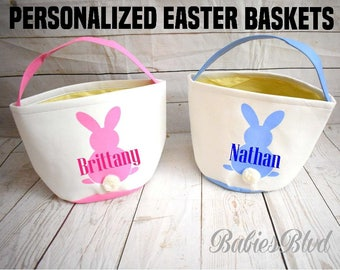 Personalized Easter basket with name, Easter basket for boy or girl, name Easter basket, custom name Easter basket boy, Easter basket girl