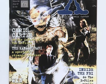 X-Files Magazine, Episode Guide, British Issue 24, Vintage Comic, The Truth is Out There, Behind the Scenes Articles, Mint Condition
