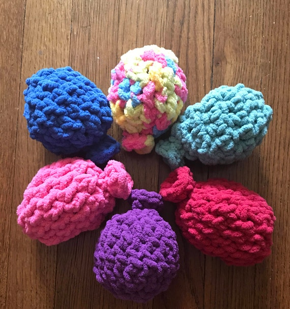 Crochet Pattern Water Balloon : Crochet Water Balloons Set of 6 Crochet Water Balloons
