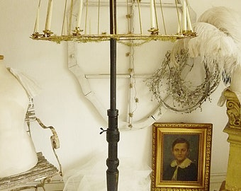magical antique lampshade - Wire Lampshade Frames