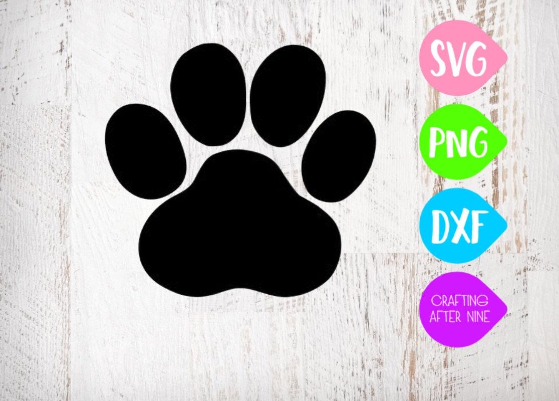 Download Paw Print SVG Cut Files Svg Files Vet PNG Image Pawprints