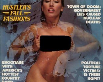 Hustler magazine cave man pictorial 1980s