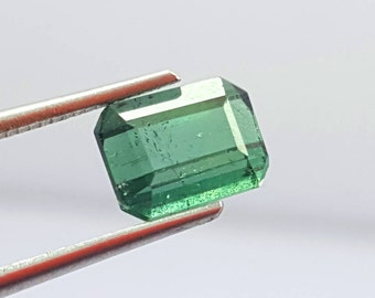 1.30 Carat Blue Color Loose Gemstone Tourmaline @ Afghanistan 8.5*7*5mm  (10)