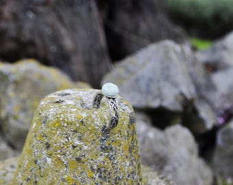 Amazonite Celtic ring | Helda