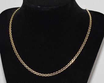 14k Gold Anchor Chain