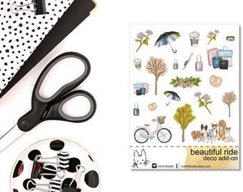 Beautiful Ride - ADD-ON Deco Sticker