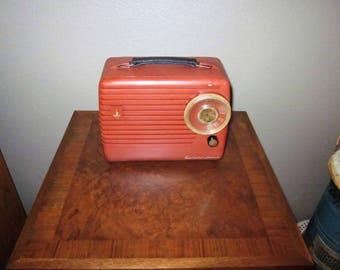 Vintage Portable Tube Radio - AM - 1954 Emerson Model 790 Series B