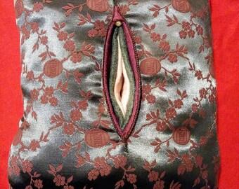 Fluffy vagina pillow