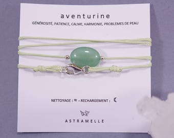Necklace / Aventurine gluttony Charm Bracelet