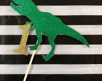 JURASSIC CAKE TOPPER - Dinosaur Cake Topper - Trex Cake Topper - Dinosaur Party