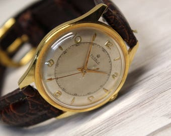 SWISS WATCH ROIDOR 21 Rubis, Swiss watch, Mechanical watch, Leather watch, Men's Watch, Wrist watch, Rare Swiss Vintage Watch, Vintage Watch