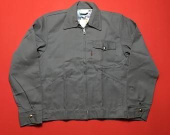 Vintage Work Jacket - Vintage Gray Jacket - Vintage Grey Jacket - Vintage Grey Work Jacket - Vintage Gray Work Jacket - Hammill Jacket