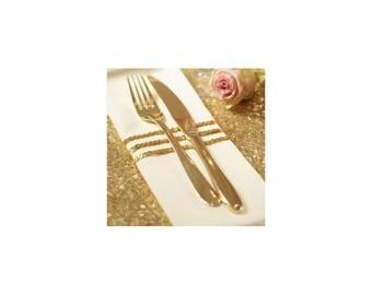 String of sequins gold