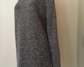 J Crew Cotton Rag Knit Crew Neck Sweater; Winter Weight & Cozy