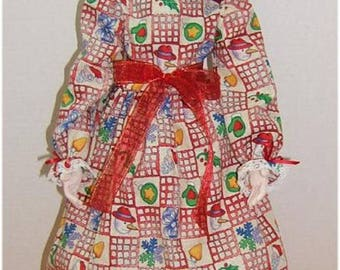 Judi Ward Original Design - Noelle  Noelle ~ Cloth Doll Making E-Pattern - Download Sewing Pattern