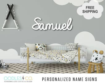 Name Sign for Kids | Name Sign Wood | Nursery Name Sign |Nursery Name Sign Girl | Nursery Name Sign Boy | Name Sign for Nursery |  DS07