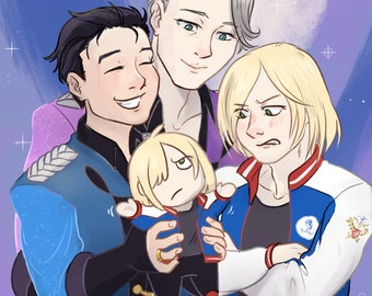 YOI Happy Podium Family