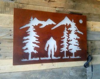 Bigfoot LED Sign