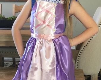 Tangled Rapunzel Princess Dress Up Apron - Tangled Princess Dress Up Apron