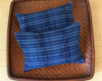 A Set of Two Organic Buckwheat Hull Travel/Support Cushions - SC5