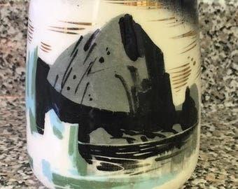 "Mid Century Matthew Adams Pottery ""Glacier"" Mug"