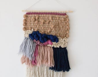 Woven wall hanging | Wall tapestry wall hanging | Bohemian tapestries | Woven wall art| Wall tapestry weaving| Tapestry wall hanging