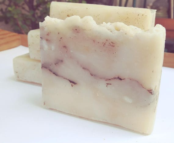 Organic Soap - Summer Strawberry Scented Soap, Mild and Moisturizing Face and Body Bar - Bubbly, Silky and Fruity, Made with Organic Oils