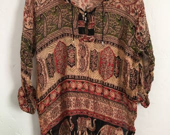 Indian Woven Blouse