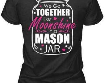 Moonshine and Mason Jar