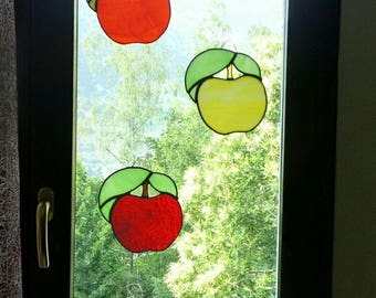 Stained glass Apple