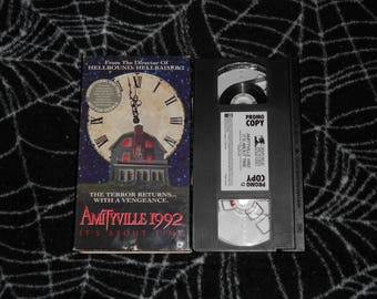 Amityville 1992: It's About Time (1992, VHS) *Promo Copy*