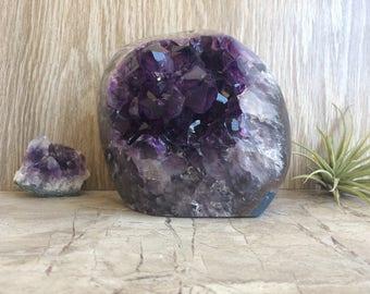 Top Grade Polished Amethyst Geode