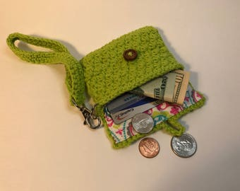 Business card holder, drivers license holder, card holder, key chain, key ring, gift idea, present, wallet, purse, clutch