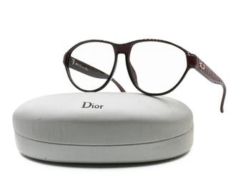 Christian Dior mod. 2325 glasses frame for sunglasses eyeglasses // Optyl acetate, CD logo // Deadstock vintage 1990s