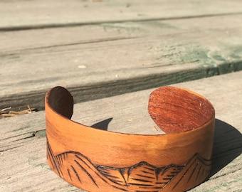 Wood Cuff Bracelet