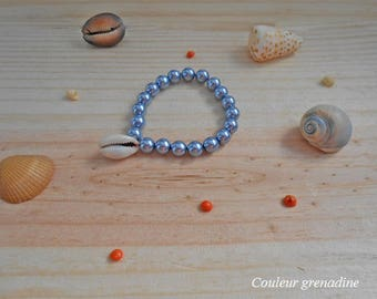 Bracelet beads and shell
