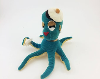 Vintage dream pet, Dakin dream pet, squid dream pet, from the 1960s