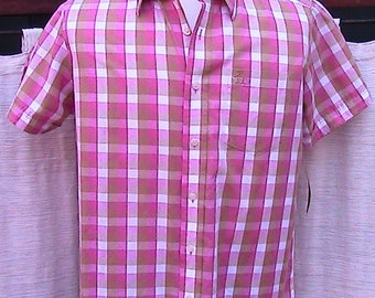 Small Classic Vintage Penquin Short Sleeve Shirt