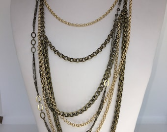 Gold & Bronze Multi-Chain