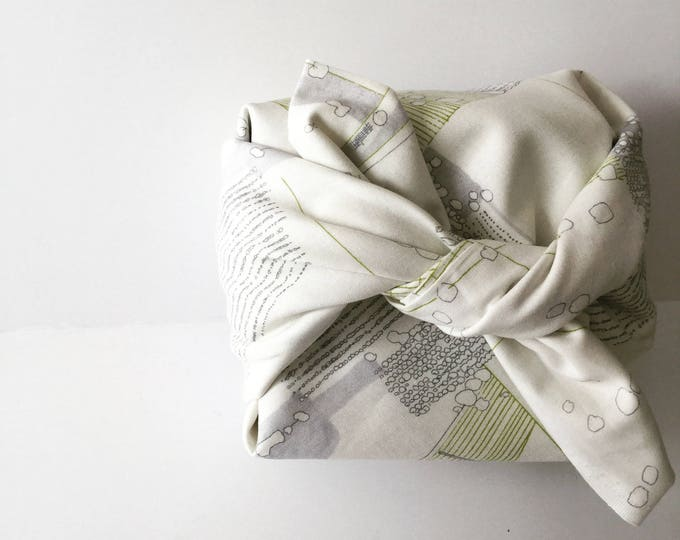 Featured listing image: Furoshiki wrapping cloth / Reusable gift wrap / Japanese textiles / Eco-friendly alternative gift wrap / Traditional Japanese culture