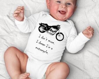Motorcycle Baby Clothes, Biker Baby Clothes, Motorcycle Baby Shower, Bike Baby Clothes, Hipster Baby Clothes Funny Baby Clothes Cycle Outfit