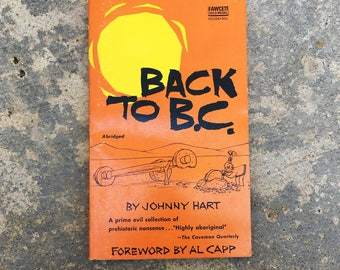 Back To B.C. by Johnny Hart, 1964, Paperback Comic Book