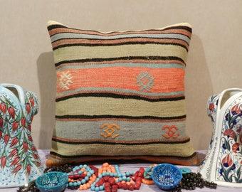 kilim pillow, turkish pillow,handmade pillow,decorative pillow