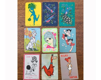 Vintage | Assorted Designs | Swap Card | Playing Cards