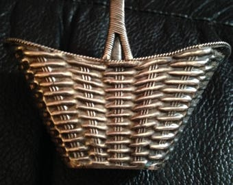 Three Chinese Export Sterling Silver Baskets