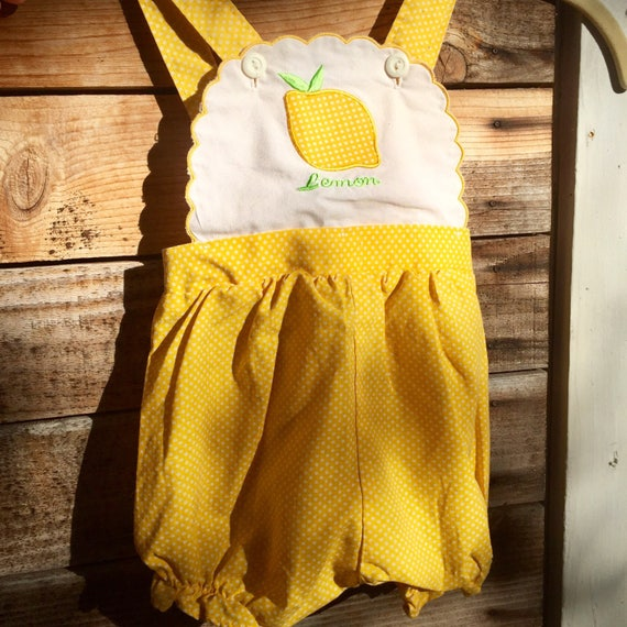 infant sunsuit - vintage romper - baby one piece - vintage kids clothes - baby clothes